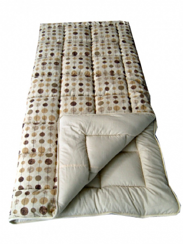 Sunncamp Beige Baubles Super King Single Size Sleeping Bag